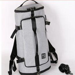 Train Usb Australia - Long Gym Sports Bags Men Women Fitness Training Backpacks Multifunction USB charging 15.6 inch Laptop Men Women Long Backpack #182023