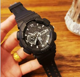 $enCountryForm.capitalKeyWord Australia - Designer Mens Luxury Watch worlds top men mechanical watch G series GA-110-1B silicone strap outdoor work Watches couple famous Wristwatches