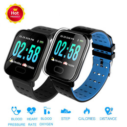 $enCountryForm.capitalKeyWord Australia - 2019 New A6 Smart Watch Touch Screen IP67 Water Resistant Smartwatch with Heart Rate Smart Bracelet Monitor Sport Running Wristband