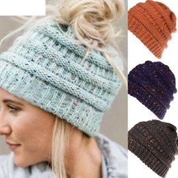 bf90d9c2014 JAYCOSIN Womens Hats Men Women Baggy Warm Crochet Winter Wool Knit Ski  Beanie Skull Slouchy Caps Hat Dropshiping 18OCT10