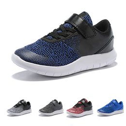 New Design Boy Kids Shoe Australia - New Style Kids Design Flex Contact Free Run Shoes Training Sneakers Children Running Shoes for Girls Boys Walking Sport Boosts Athletic