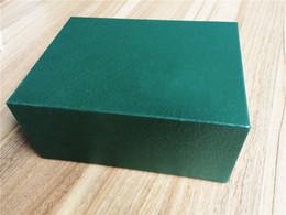 Vente en gros Livraison Gratuite Montre Vert Boîte D'origine Boîte à Cartes Sac Bourse Coffrets Cadeaux Sac À Main 180mm * 140mm * 92mm 0.7 KG Pour toutes les Montres