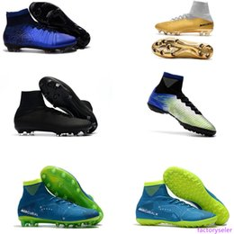 new cr7 sport shoe NZ - New Mercurial x EA SPORTS Football Boots Mercurial Superfly V CR7 FG Mens Ronaldo Soccer Cleats Neymar JR II FG Junior Soccer Shoes