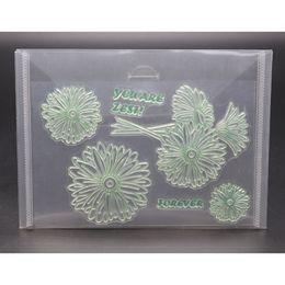 $enCountryForm.capitalKeyWord Australia - 5PCS Resealable Storage Case For Cutting Dies Stencil Album Stamp Crafts Clear Plastic Seal Bags 18x13cm New Arrive