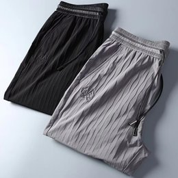 $enCountryForm.capitalKeyWord Australia - 2019 Mens designer Pleated sweatpants designer track jogging pants chinese size pants ~ high quality mens yoga joggers track sweat pants