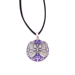 $enCountryForm.capitalKeyWord Australia - YY10 European and American popular amulet butterfly elf goddess pendant leather rope chain necklace
