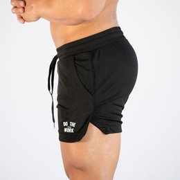 $enCountryForm.capitalKeyWord Australia - NEW Men's Running Shorts Mens Mesh Sports Shorts Male Breathable Quick Drying Sports men Jogging Gym men