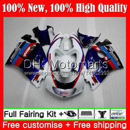 Body GSXR 600 For SUZUKI GSXR600 1996 1997 1998 1999 2000 GSX R600 Blue 5LQ35 GSXR750 SRAD 750 96 97 98 99 00 Fairing Bodywork