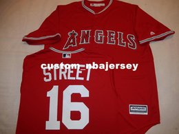 "cheap cool base jerseys UK - Cheap custom HUSTON STREET ""COOL BASE"" Baseball JERSEY Red Stitched Customize any name number MEN WOMEN BASEBALL JERSEY XS-5XL"