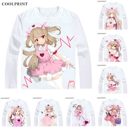 Vintage T Shirts Men Australia - Natori Sana Sana Channel T Shirt Virtual Youtuber Vtuber Artificial Intelligence AI Men T-shirt Casual Vintage Printed Long Sleeve Shirts