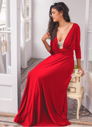 HigH neck sleeveless evening dresses online shopping - Hot Selling Pretty Pink Chiffon Maxi Evening Dress Elegant Sleeveless High Neck Long Dress D070