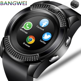 $enCountryForm.capitalKeyWord NZ - Bangwei Men Women Smart Wristwatch Support With Camera Bluetooth Sim Tf Card Smartwatch For Android Phone Couple Watch C19041001