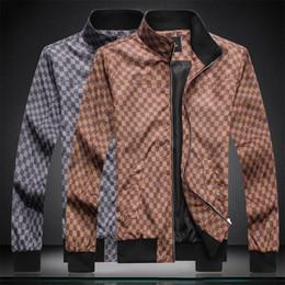 Wholesale mens sport winter jackets resale online – 2020 Fashion Luxury Mens Design Jackets Windbreaker Hoodie Jacket Men Women Autumn Winter Casual Sports Hoodies Jackets Coats ZQM0608