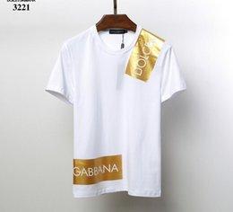 Ingrosso 2019 New Clothing dg T-shirt uomo manica corta medusa Uomo Fashion Luxury brand magliette casual per uomo T-shirt maschile