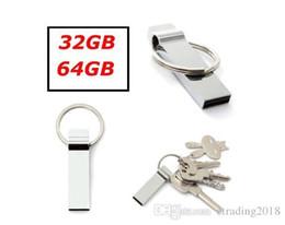 $enCountryForm.capitalKeyWord Australia - 32 64GB Mini Metal Key Chains Design USB 2.0 Flash Stick Memory Pen Drive Storage Keyring