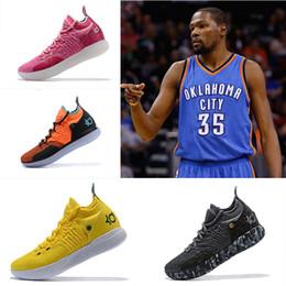 super popular 37e23 ea7c8 Kevin Durant 11 Basketball-Schuhe Designerschuhe Zoom off Männer KD 11s  Laufen Sportschuhe Weiß Rot Luxus KD EP Elite Low Sport Sneakers