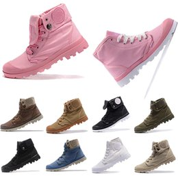 More Anti Australia - HOT more color PALLA Pallabrouse Men High-top Army Military Ankle boots Canvas Sneakers Casual Shoes Man Anti-Slip Shoes