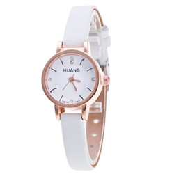 wristwatch sales NZ - 2020 hot sale elegant simple smart women and girls'lover watch thin band light diamond alloy made wristwatch