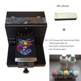 $enCountryForm.capitalKeyWord NZ - Factory offer high quality Black t-shirt print DTG Printer 20*30 printing size tray