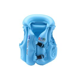 $enCountryForm.capitalKeyWord UK - New Adjustable Children Kids Babies Inflatable Pool Float Life Vest Swiwmsuit Child Swimming Drifting Safety Vests LMH66