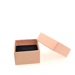 earring paper UK - paper box for jewelry small box for ring earrings with black foam 500 pcs
