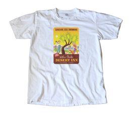 $enCountryForm.capitalKeyWord Australia - Vintage Wilbur Clark's Desert Inn Las Vegas T-Shirt HOT SELL 2019 New Fashion Brand tees Solid Color short Sleeve 100% Cotton Casual