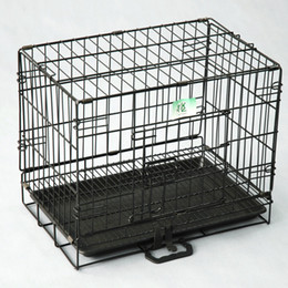 $enCountryForm.capitalKeyWord Australia - 2 Doors Wire Folding Pet Crate Dog Cat Cage Suitcase Kennel Playpen With Tray(Factory Direct Sale, Sample Sale)