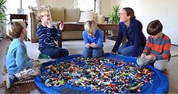 $enCountryForm.capitalKeyWord Australia - Baby Play Mat Storage Bags Luxury Toys organizer Playing Mats Portable Toys Blanket Rug Boxes Organizer Christmas Gift EEA225