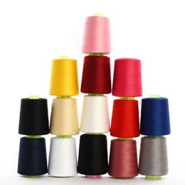 Wholesale 8000 Yards Knotless High Speed Polyester Sewing Thread Overlocking Sewing Machine Industrial Polyester Thread