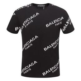 Wholesale cartoon shirt designs online – design 2019 brand design T shirt black white men s T shirt fashion men s T shirt luxury short sleeve size M XL