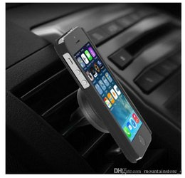 mobile cell phone mount holder Australia - Car Phone Holder Magnetic Air Vent Mount Mobile Smartphone Stand Magnet Support Cell in Car GPS For iPhone XS Max Samsung