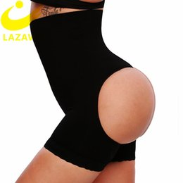 booty lift Canada - LAZAWG Sexy BuLifter Control Panties Seamless Shapewear Body Shaper Briefs Booty Push Up Underwear Big Ass Lift Up Panty Slim