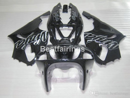 $enCountryForm.capitalKeyWord Australia - High quality plastic fairing kit for Kawasaki Ninja ZX7R 96 97 98 99 00-03 glossy black fairings kits ZX7R 1996-2003 TY16