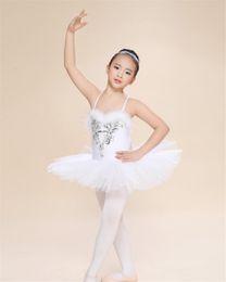 $enCountryForm.capitalKeyWord Australia - New Kids Girls Ballerina Dress White Swan Lake Ballet Costumes Children Strap Dance Wear Costume Danse Classique Enfant