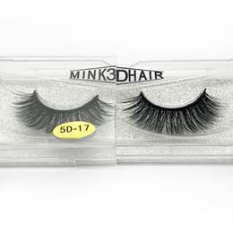 32 Hair NZ - Natural Thick mink lashes 5D series handmade reusable mink 3D hair false eyelashes soft & vivid 32 styles available DHL Free Fake lashes