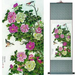 $enCountryForm.capitalKeyWord UK - Birds And Flowers Painting Silk Leaves Painting Traditional Chinese Art Painting Home Decoration Painting2019072308