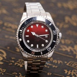 Silver Black Red Australia - 2019 top selling fashion Men Red Black Dial Date Watch Silver Stainless Steel Watch Male Quartz Watches Waterproof Calendar Wristwatch