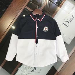 $enCountryForm.capitalKeyWord Australia - Kids Designer Clothessummer Children's Clothes Boys And Girls Shirts New Children's Long-sleeved Shirts Color Design Fashion Shirts
