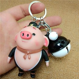 Red Heart Sun Glasses Australia - Cartoon cute Sun Wukong pig key clasp car bag hang a small gift event gift