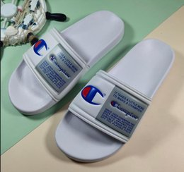 $enCountryForm.capitalKeyWord Australia - 2019 New Arrival Flip-Flops for Good quality Fashion Slippers Men's Women Summer Beach Slipper Black Red Casual Sandals EUR36-45