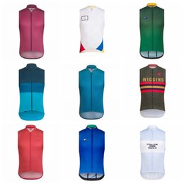 Clothes Worn Mountains Australia - 2019 RAPHA team Cycling Sleeveless jersey Vest Mountain Bike High Quality Breathable Clothes Quick drying Wear K032706