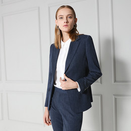 ladies simple jacket NZ - new fashion ladies Women's simple temperament commuting slim slimming suit jacket female