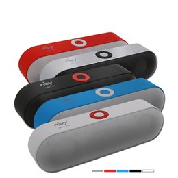 Aux Stereo System Australia - NBY-18 Mini Bluetooth Speaker Portable Wireless Speaker Sound System 3D Stereo Music Surround Support Bluetooth,TF AUX USB