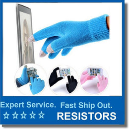 $enCountryForm.capitalKeyWord Australia - Men Women Winter Touch Screen Gloves For Smart Phone Tablet Full Finger Mittens Free post to world wide