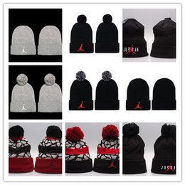 $enCountryForm.capitalKeyWord Australia - Top Sale Beanies cheap Pom Beanie hats Wool Cap Autumn Winter caps Sprot men hat Woolen Hat diamond skull caps