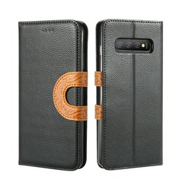 cases samsung galaxy a3 Australia - Lanyard Case For Samsung Galaxy S10 S10E S9 S8 plus S7 A3 A5 A6 A7 A8 A9 2018 Leather Flip Wallet totem Cover