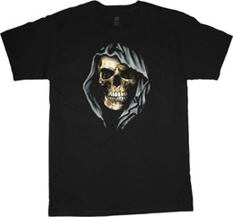 $enCountryForm.capitalKeyWord UK - Hooded skull t-shirt for men graphic tee design skull decal tshirt mens Men Women Unisex Fashion tshirt Free Shipping