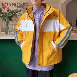 $enCountryForm.capitalKeyWord Australia - KUANGNAN Japan Style Warm Winter Jacket Men Clothes Parka Winter Jackets Mens Overcoat 2018 Long Coat Mens Parkas 5XL