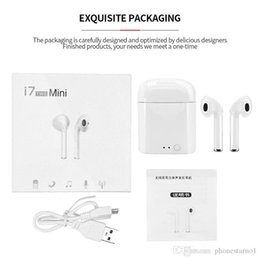 $enCountryForm.capitalKeyWord Australia - Double ear Bluetooth Wireless Earphone I7s Tws Bluetooth Headset In-ear With Charging Bin Box Stereo Mini Wireless Earphone