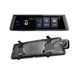 $enCountryForm.capitalKeyWord Australia - 10'' 3G Wifi Android Car DVR Mirror GPS Camera Dash Cam Dual Camera Auto Recorder